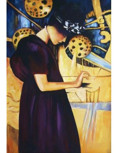 Obraz Gustav Klimt - Hudba