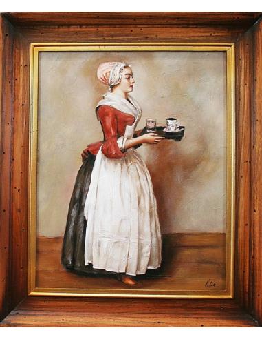 Jean-Étienne Liotard - Čokoládová žena
