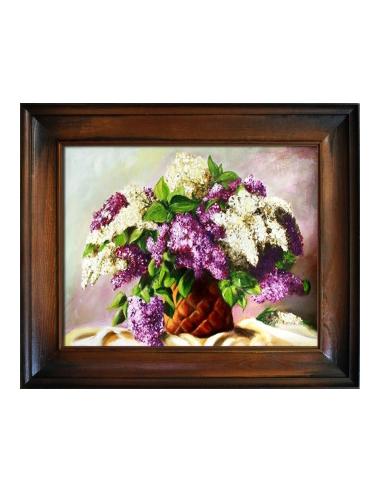 Obraz - Bielo-ružová kytica orgovánov