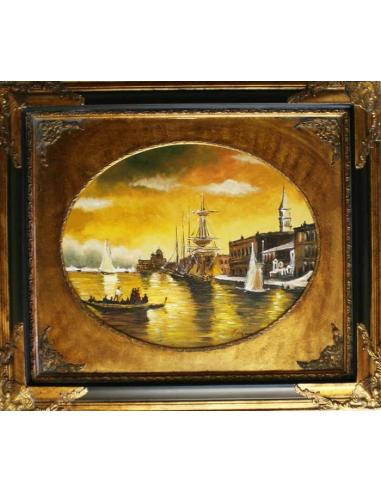 Obraz - Benátsky prístav