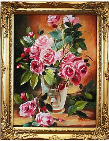Obraz - Ružové ruže