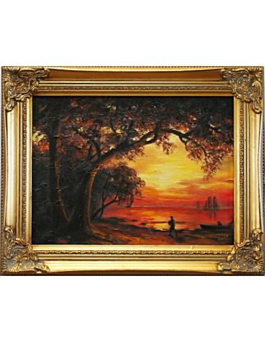 Albert Bierstadt - Ostrov novej...