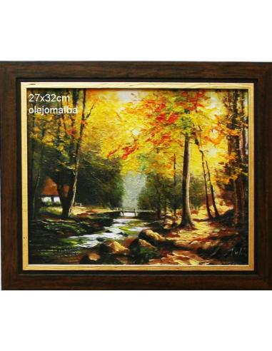 Obraz - Lesný domček