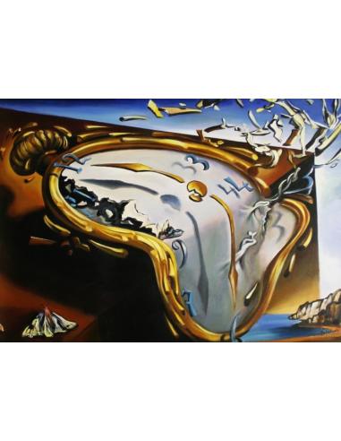 Obraz Salvador Dalí - Mäkké hodinky