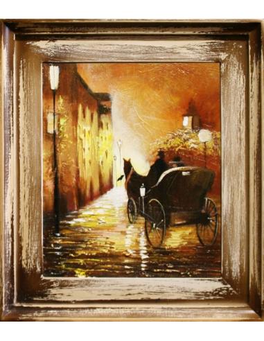 Obraz - Prechádzka s kočom