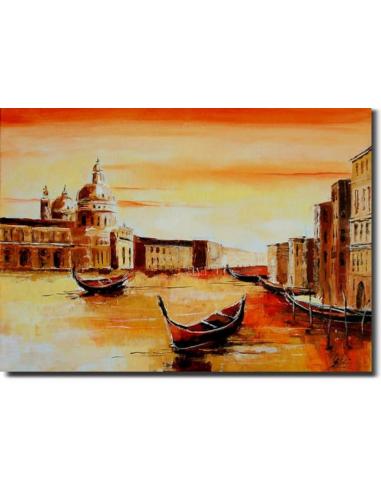 Obraz - Veľký kanál v Benátkach