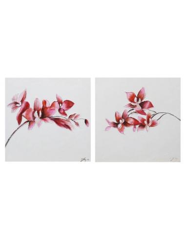 Dvojica obrazov - Kvety orchidey