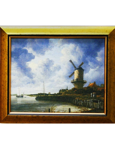 Jacob van Ruisdael - Veterný mlyn v...