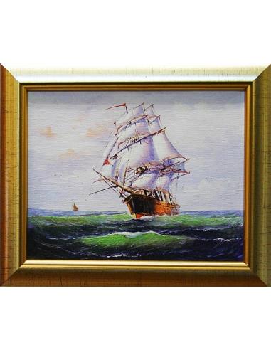 Obraz - Plachtenie vo vlnách