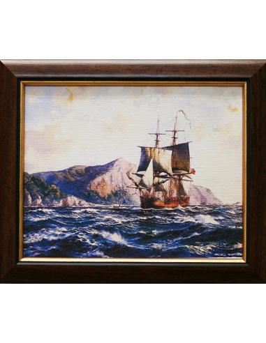 Obraz - Plachetnica vo vlnách
