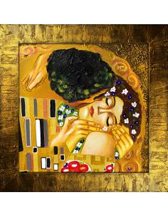 Obraz Gustav Klimt - Bozk