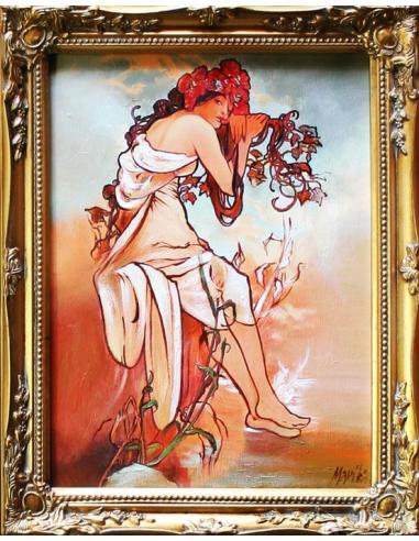 Obraz Alfons Mucha - Štyri ročné...