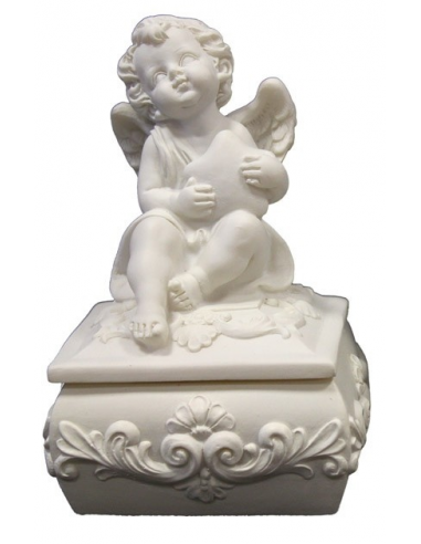 Šperkovnica s anjelikom štvorcová...