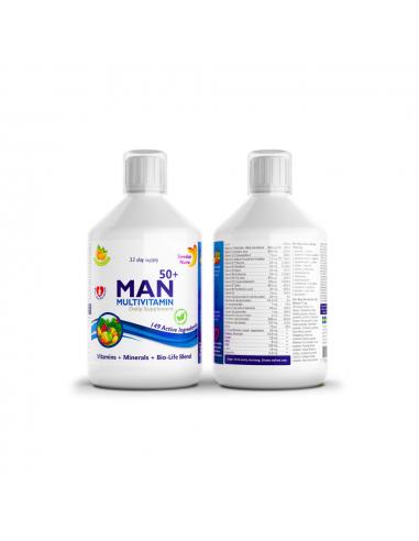 Swedish Nutra Man 50+ Multivitamin...