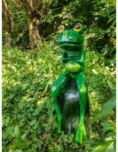 Zelená žabka