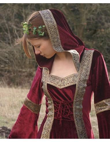 Zamatové šaty Lyra