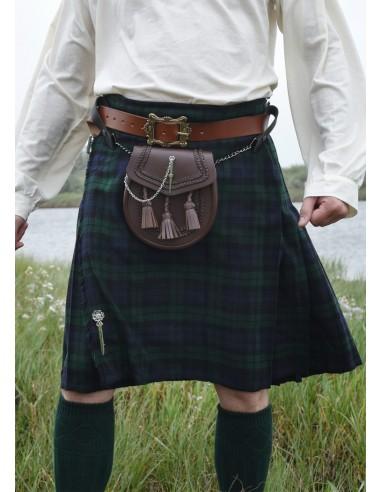 Kilt, škótska sukňa - modrý a zelený...