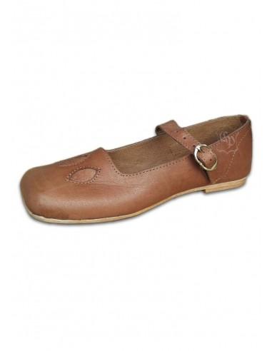 Topánky kraví pysk, 16. storočie, unisex