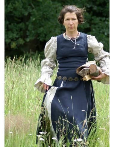 Stredoveká dámska košeľa pod šaty