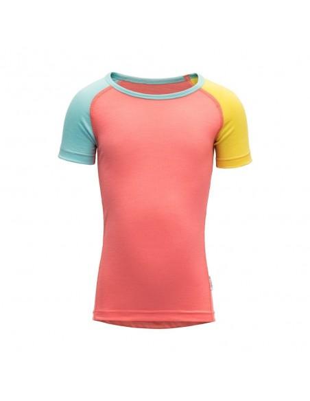 Devold Merino detské tričko s krátkym rukávom Breeze