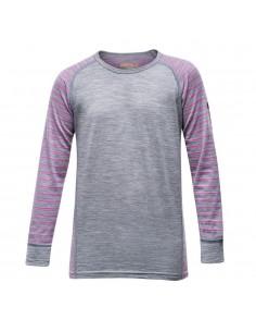 Devold Merino junior tričko s dlhým rukávom Breeze