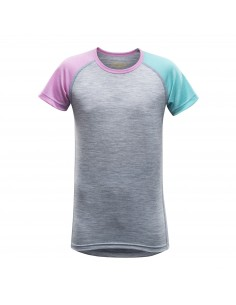 Devold Merino junior tričko s krátkym rukávom Breeze