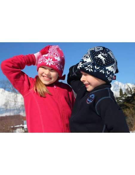 Kama pletená merino čiapka Windstopper® BW17