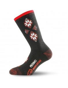 Lasting Merino junior detské ponožky lyžiarske SCK