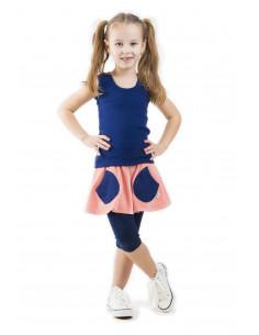 Carpe DM velúrová sukňa Jolly