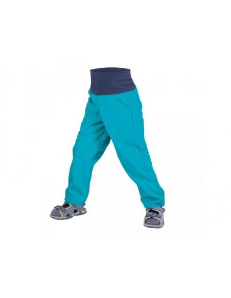 Unuo tenké letné detské softshellové nohavice BEZ zateplenia