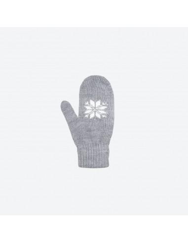 Kama pletené merino detské rukavice so vzorom RB201