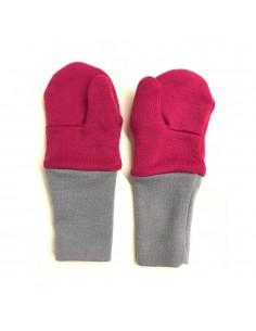 Crawler Merino detské rukavice palčiaky dvojvrstvové