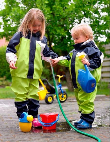 Elka detská nepremokavá súprava do dažďa Lime