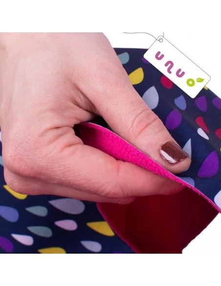 Unuo detské softshellové nohavice s fleecom pre najmenších Eugen
