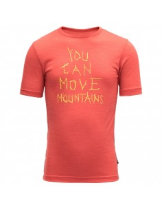 Devold Merino detské tričko Moving Mountain Kid Tee