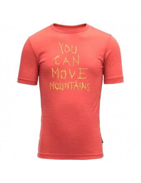 Devold Merino detské tričko Moving Mountain Kid Tee