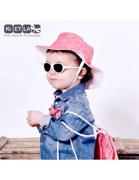 KiETLA obojstranný detský klobúčik s UV ochranou Ice Cream