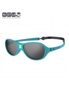 KiETLA detské slnečné okuliare Pávia modrá