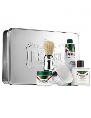 Proraso Green 7 dielna sada na holenie