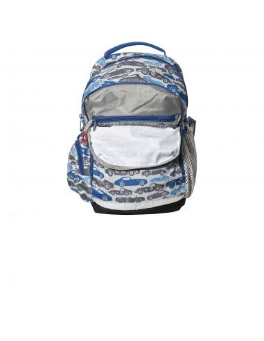 Bergans rastúci detský ruksak do školy a na turistiku 2GO 24L Autíčka