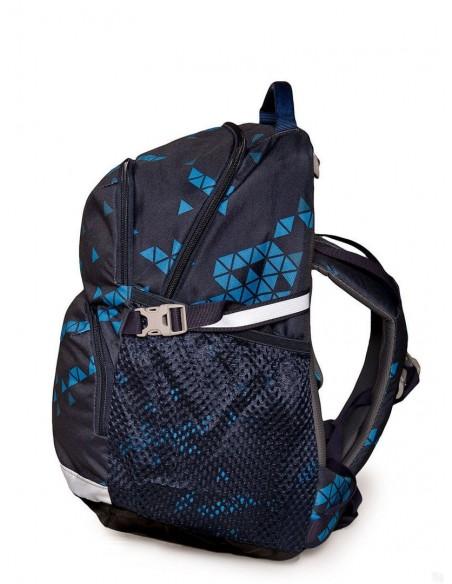 Bergans rastúci detský ruksak do školy a na turistiku 2GO 24L Trojuholníky