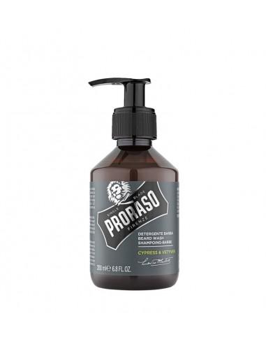 Proraso Cypress & Vetyver šampón na bradu 200 ml