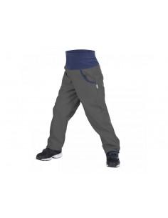 New! Unuo detské softshellové nohavice s fleecom Basic