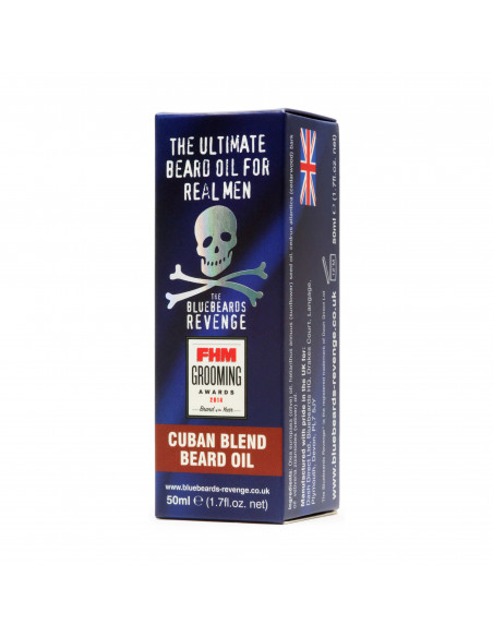 Bluebeards Revenge Cuban blend olej na bradu