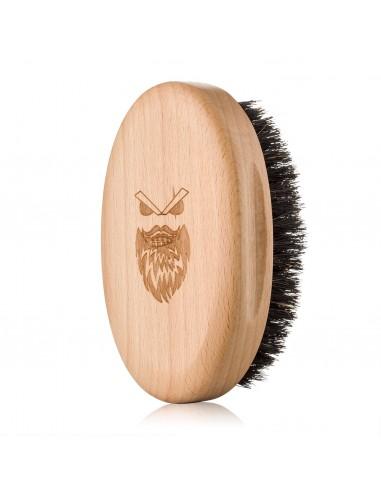 Angry Beards Drevená kefa na bradu a...