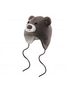 Devold Merino detská čiapka teplá Medveď