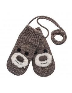 Devold vlnené detské rukavice pästičky Bear baby