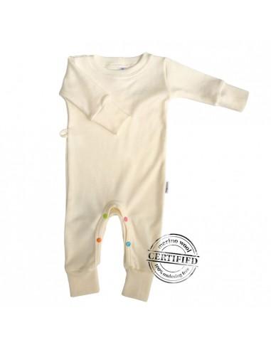 Woollies Merino detský overal/pyžamko