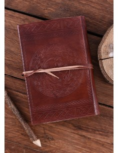 Kožený zápisník s keltským...