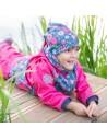 Unuo detský fleecový nákrčník Kvietky
